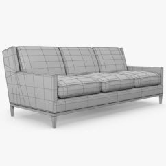 A Rudin Sofa 2859 Black And Grey Sofas Cheap Three Seat 3d Cgtrader Model Max Obj Mtl 3ds Fbx 14