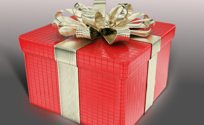 3d Model Gift Box Present Cgtrader