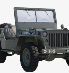 military jeep car willys 3d model max obj mtl fbx tga  [ 1920 x 1080 Pixel ]