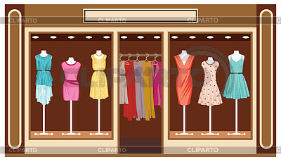 clothing boutique clothes clipart nataliya yakovleva cliparto supermarket illustration shopping clip background graphics drawing illustrations