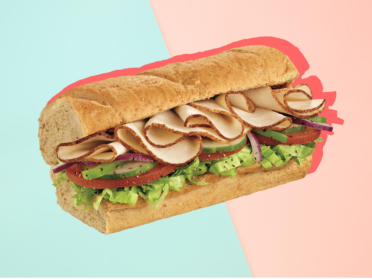 5 healthy subway sandwiches