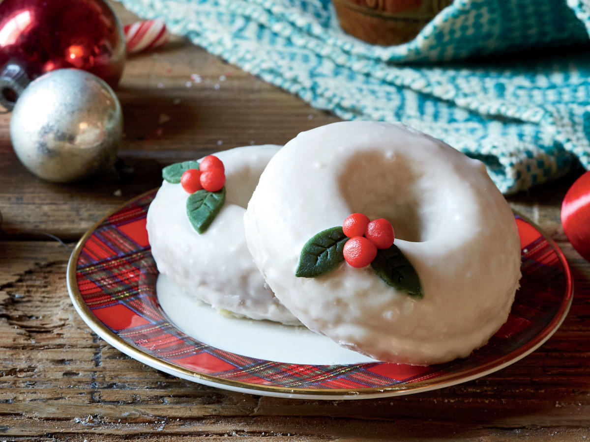 Baked Marzipan Donuts Recipe - Cooking Light