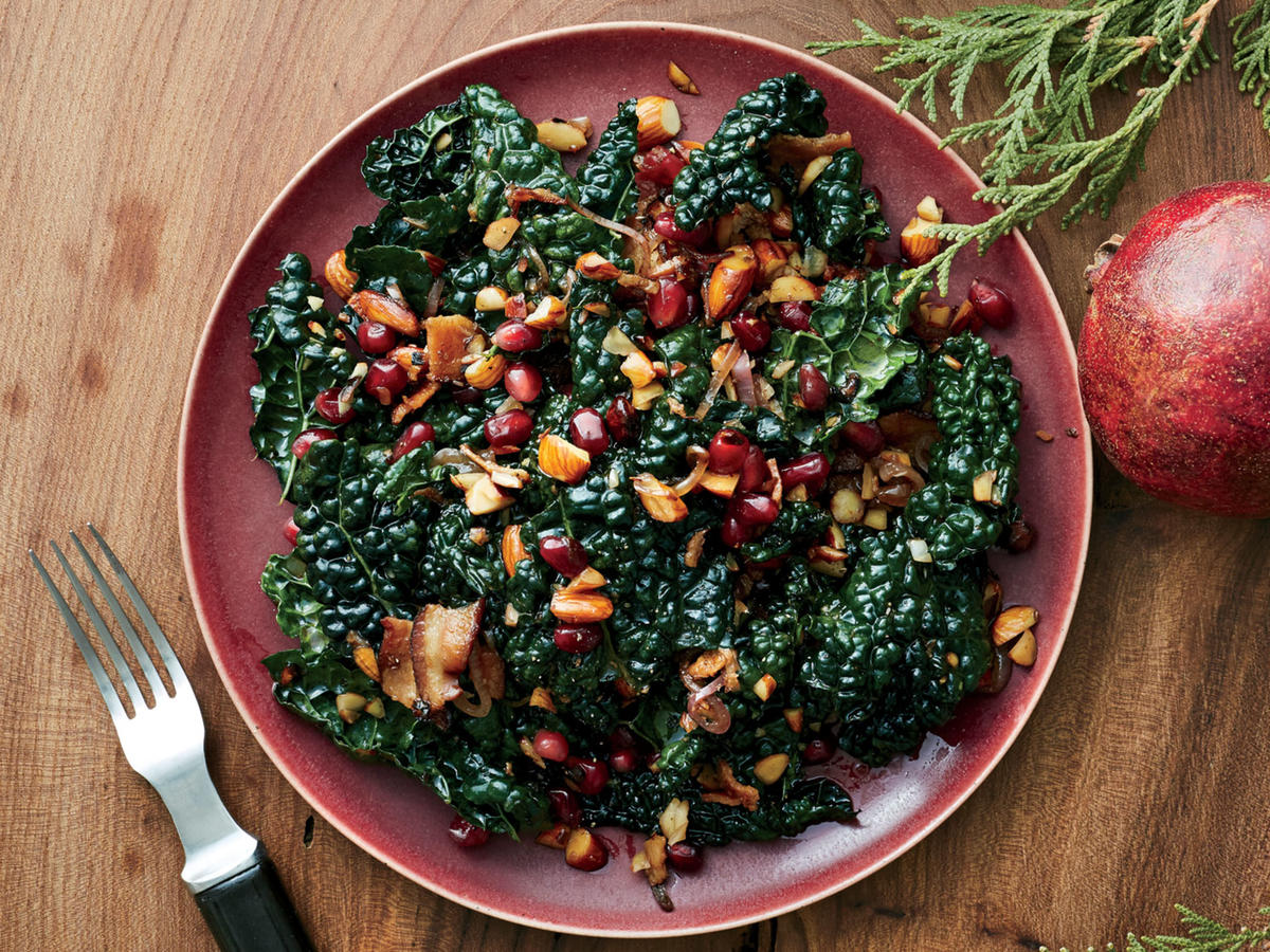 Kale And Pomegranate Salad Recipe Cooking Light