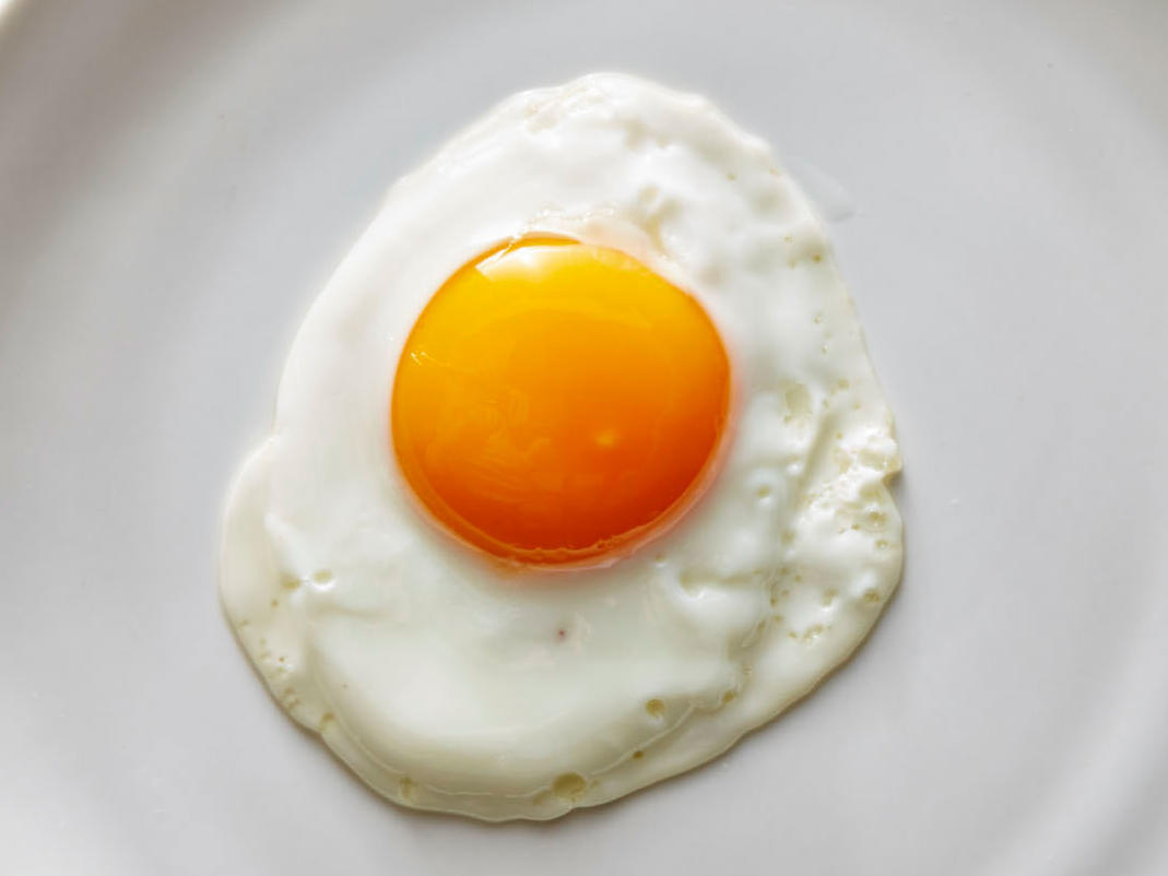Pristine SunnySide Up Eggs Recipe  Cooking Light