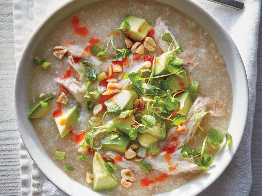 Slow Cooker Chicken Congee