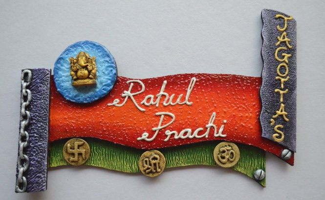 Designer Attractive Name Plates Online And Decor Your Home Entrance