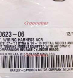 harley davidson harley acr automatic compression release wiring harness general purpose  [ 1280 x 960 Pixel ]