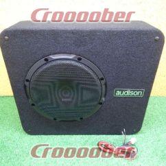 Dual Voice Coil Subwoofer Box Kenwood Excelon Ddx8017 Wiring Diagram Audison Prima Part Number Apbx8ds Thin 25 Cm Enclosure Rated Input 400w 4w