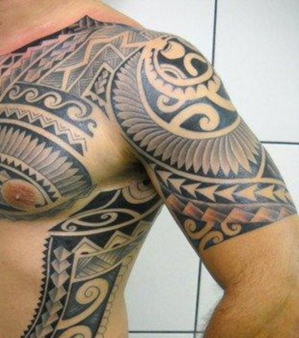 20 Back Tricep Tattoo Tropical Ideas And Designs