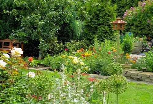 Gartenabtrennung Zum Nachbarn einzigartig sichtschutz