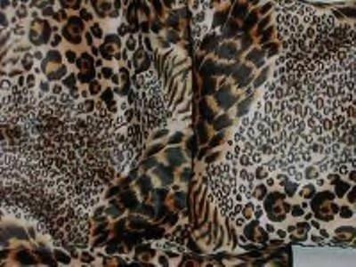 Leopard faux fur throw decorator blanket New