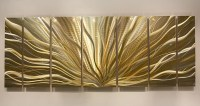 Gold & Silver Modern Metal Wall Art Metallic by ...