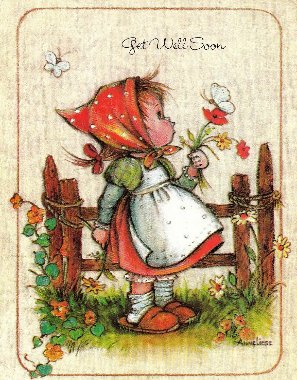Vintage 1989 Get Well Soon DOLLAR Greetings Card B32