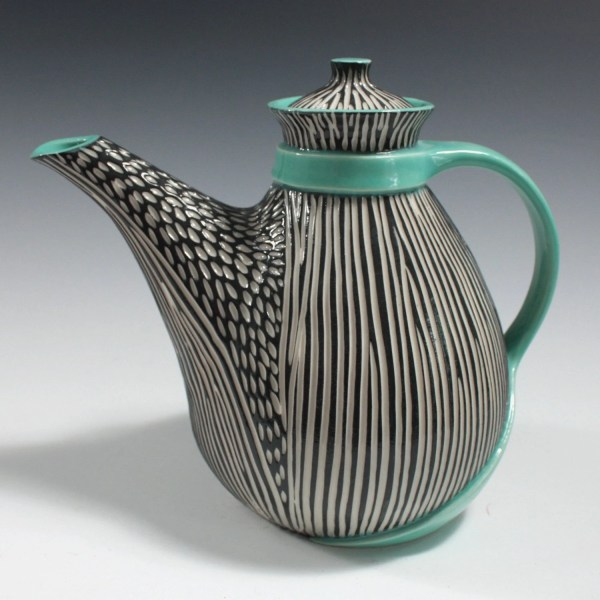 Modern Porcelain Teapot