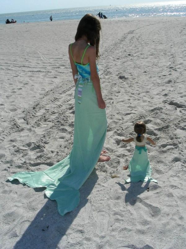 Mermaid Tail Towel