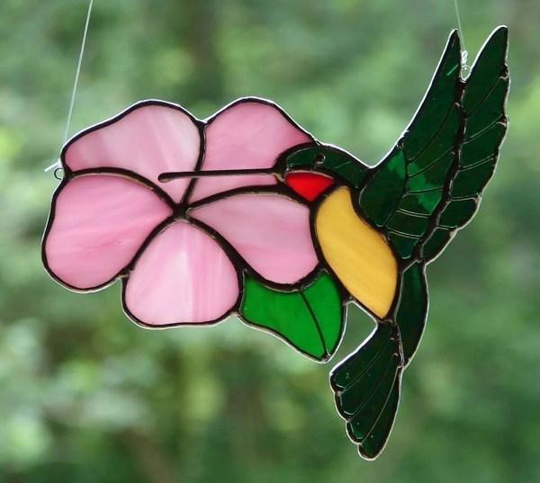 Dancing Hummingbird Theglassmenagerie