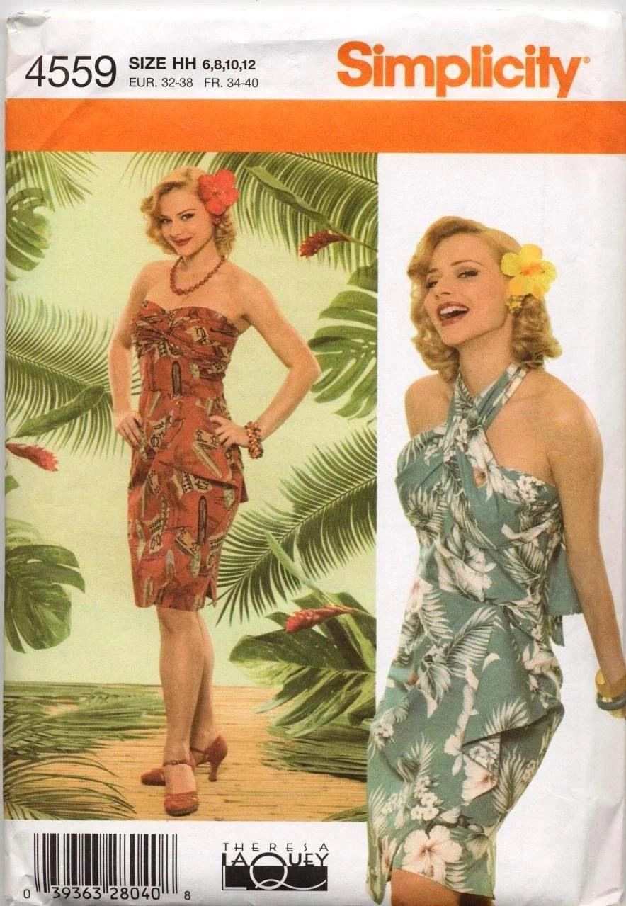 Luau Dress Pattern 6