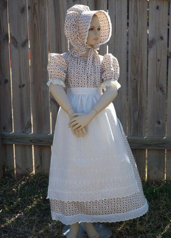 Girl Pioneer Prairie Dress Costume Atouchofgrace