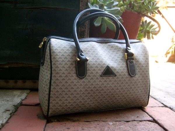Vintage Liz Claiborne Logo Purse. Handbag