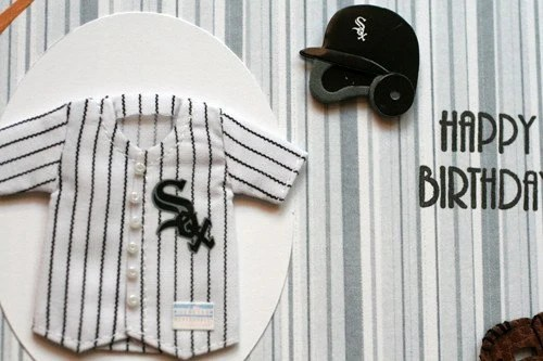 Chicago White Sox Birthday Greeting Card