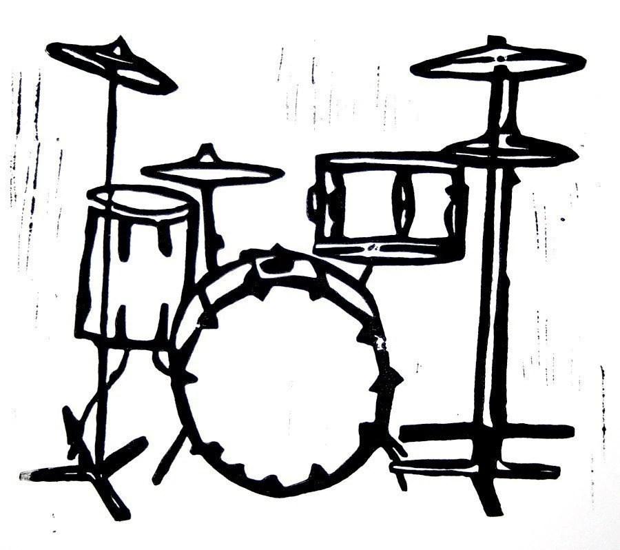 90 Hand Drum Clip Art