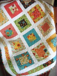 Lap or Baby Quilt Pattern....Quick and Easy LAYER Cake or Fat