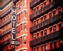 Items Similar York - Chelsea Hotel 8x10