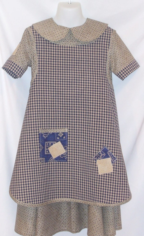 Annie Orphan Dress Costume 2pc Set Handmade Girl Sizes 3t
