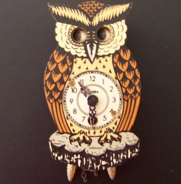 Owl Coo Coo Clock
