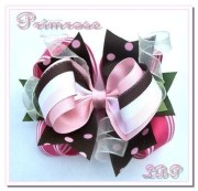 huge make boutique hair bows