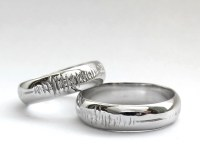 Sounds of Love Personalized Sound Wave Promise Rings Nerd