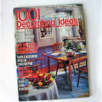 1979 Vintage 1001 Decorating Ideas Magazine by ModandMint on Etsy