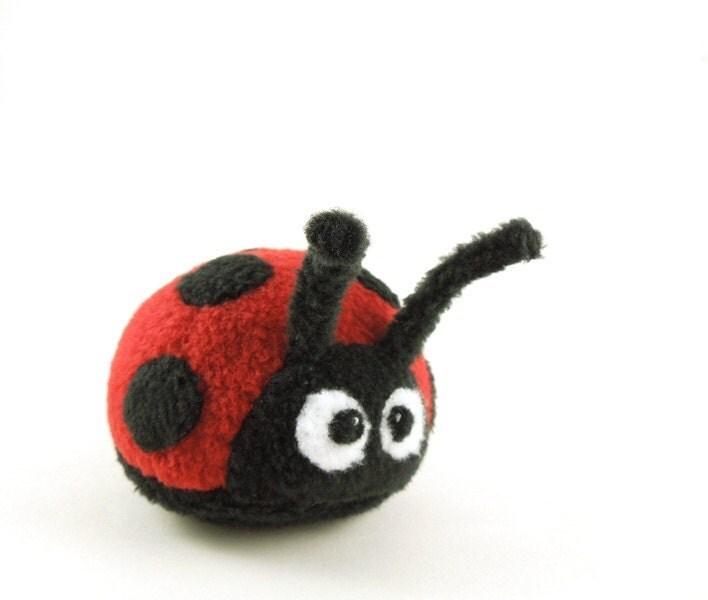 Ladybug Stuffed Animal Toy Childrens Plush Stuffie