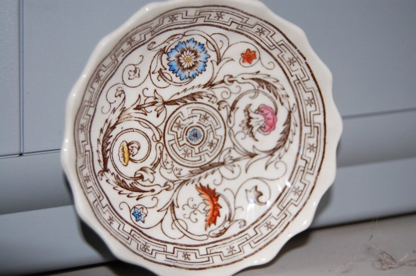 Vintage Copeland Spode China Butter Pat Florence