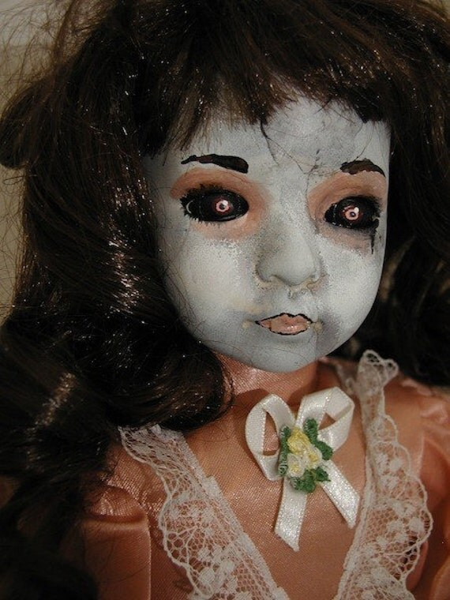 Porcelain Victorian Gothic Dolls on