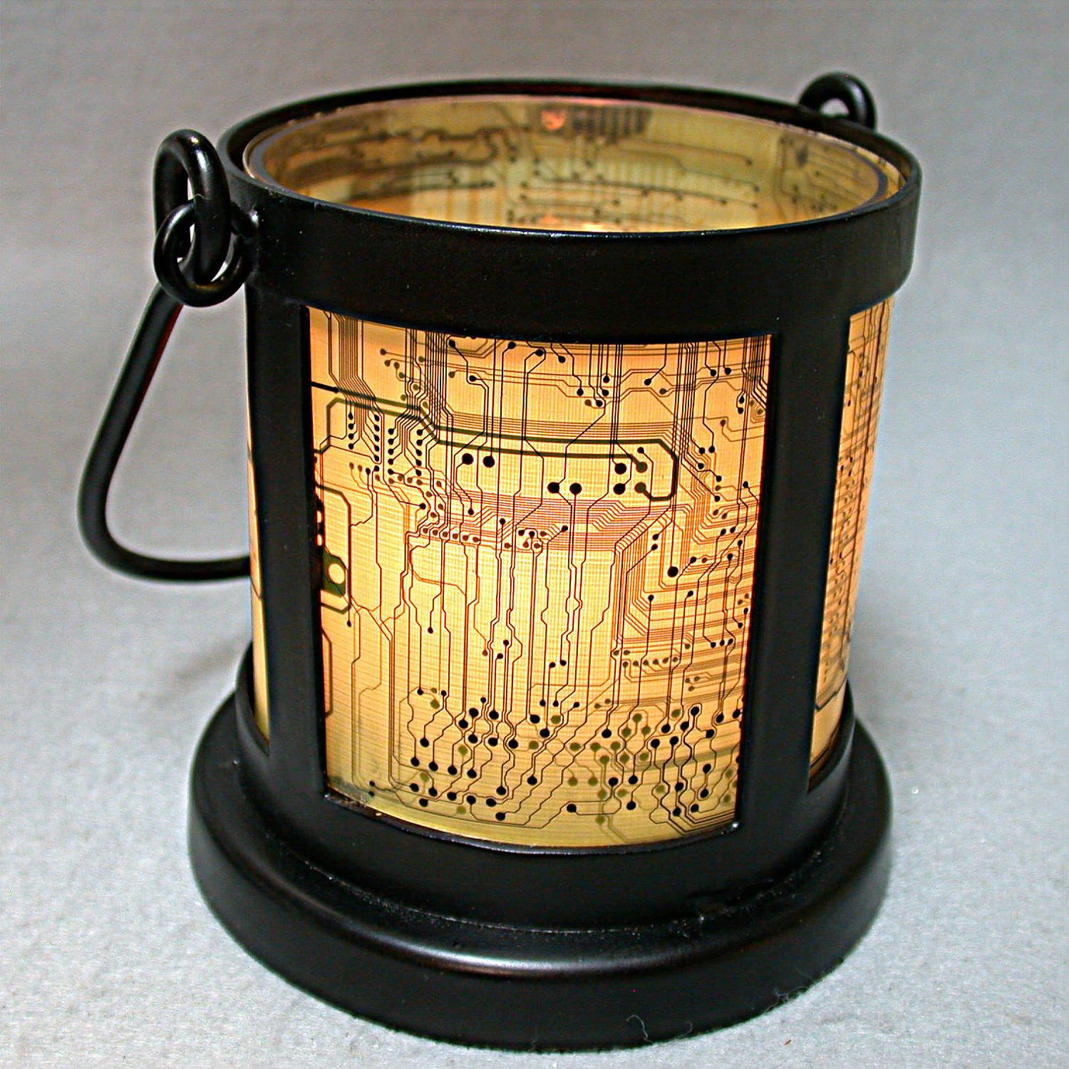 Recycled Circuit Board Geekery Vintage Lantern By Auto Electrical Geek Bookmarks Pkg 2 Debbyaremdesigns Black Wrought Iron Candle
