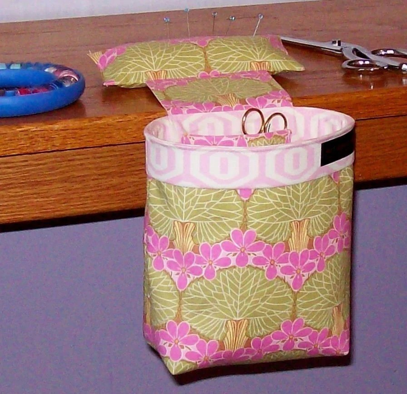 Thread Catcher Scrap Caddy Scrap Bag Pincushion For Use If