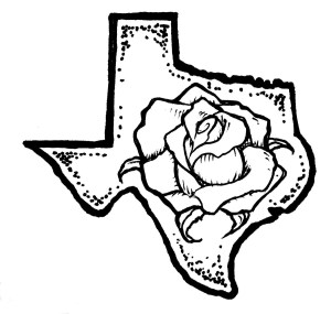 texas rose yellow clip tattoo drawing clipart outline coloring roses tattoos vector money drawings graphics 1500 fullxfull rubber getdrawings ink