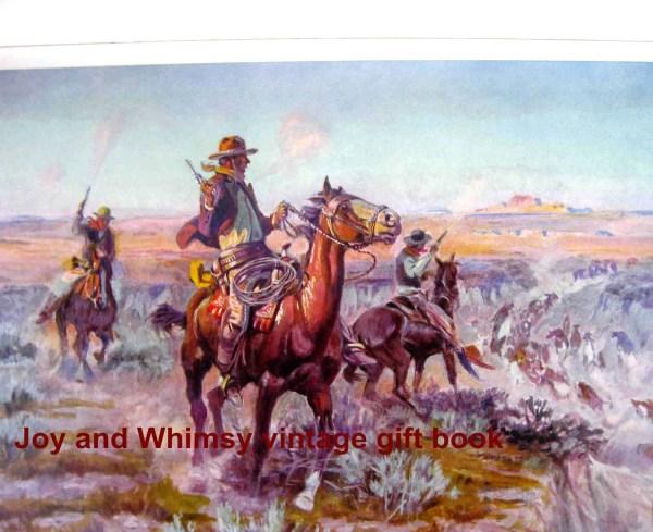 West Native American Cowboy Art Paintings