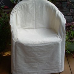 Patio Chair Slipcovers Lazy Boy Repair Hemp/cotton Slipcover For Outdoor Plastic