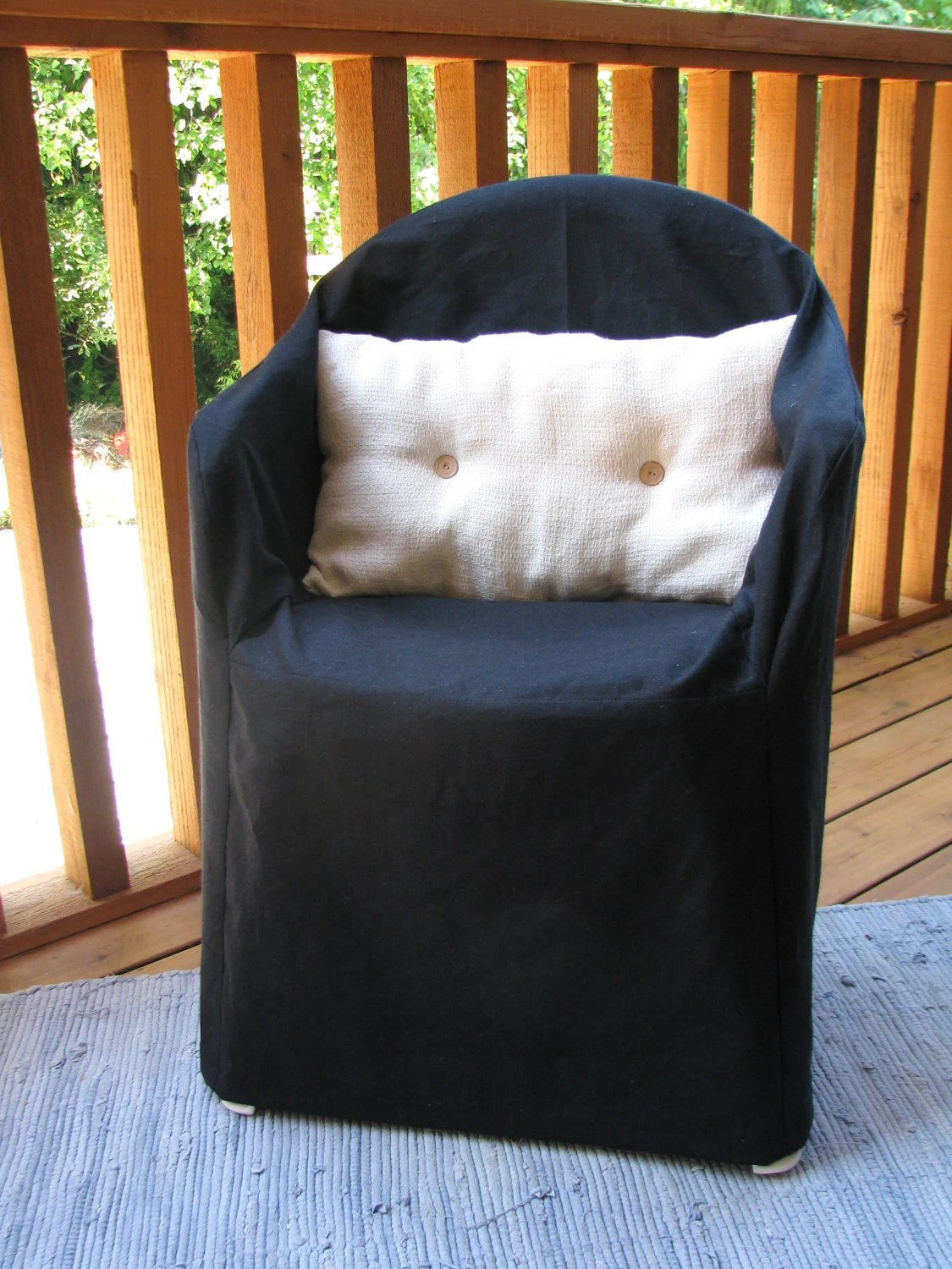 party chair covers walmart sling replacement black resin organic slipcover hemp cotton
