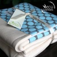 Organic Bamboo Baby Blanket Merrill Amy Butler Print
