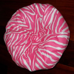 Zebra Print Bean Bag Chair Unfinished Oak Dining Chairs Pink For 18 Inch By