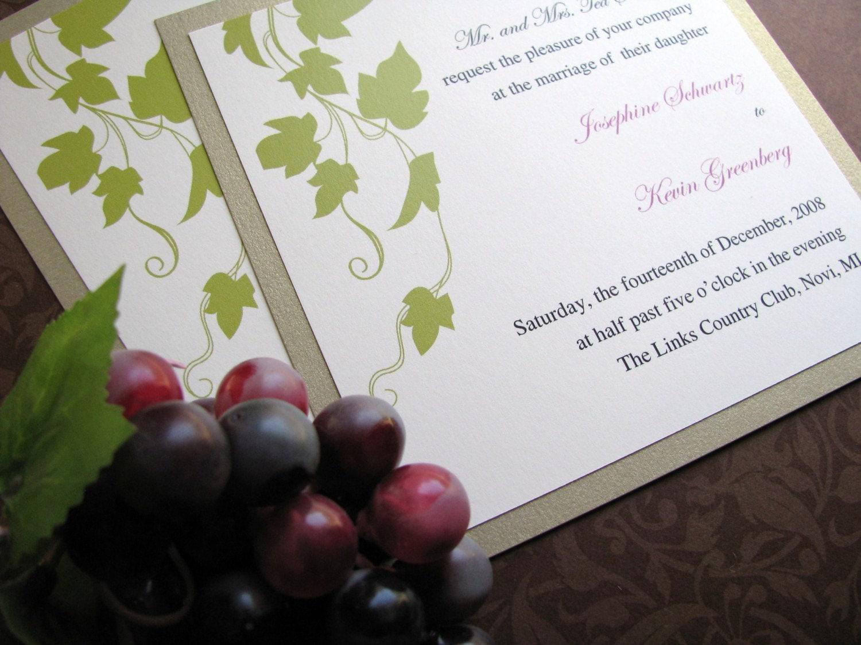 Bling Wedding Invitations