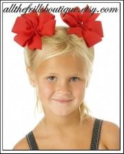 make classic hair bows