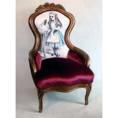 Alice In Wonderland Chair Camping Chairs With Canopy Victorian