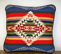 Blue Rim Rock Pendleton Wool PIllows
