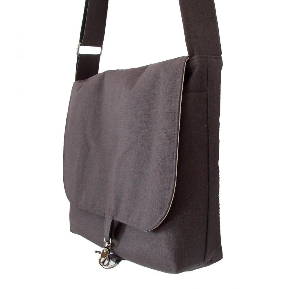17 inch Laptop Bag for Men - Gray