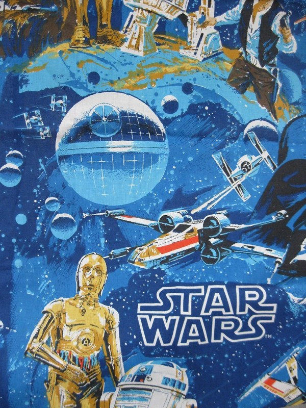 Vintage Star Wars Fabric