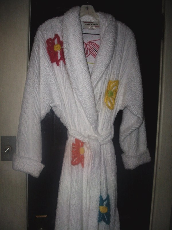 Vintage Canyon Chenille Robe Womens Size Large